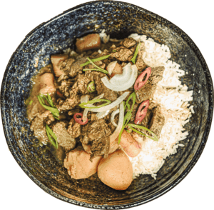 Mamahong Runderstoofpot met groenten